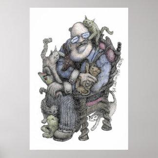 Oberlender-Color de Leonard - poster