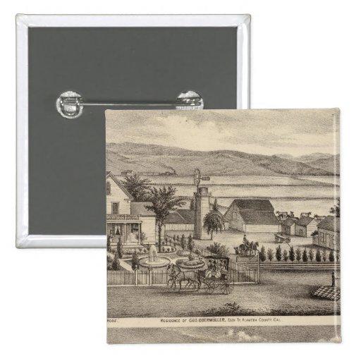 Obermuller, Wille residences Pinback Button