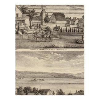 Obermuller, Wille residences Postcard