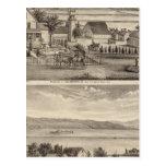 Obermuller, Wille residences Postcards
