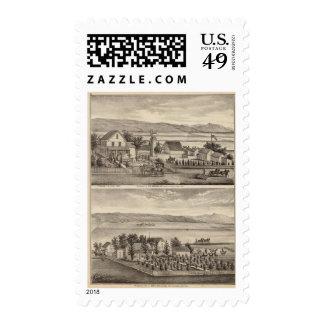 Obermuller, Wille residences Stamp