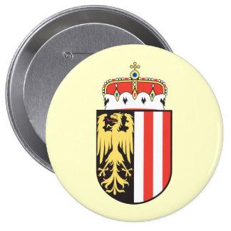 Oberoesterreich, Austria 4 Inch Round Button