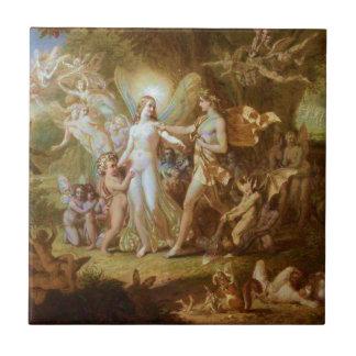 Oberon and Titania Ceramic Tile