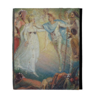 Oberon and Titania from 'A Midsummer Night's Dream iPad Folio Case
