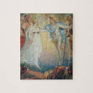 Oberon and Titania from 'A Midsummer Night's Dream Jigsaw Puzzle