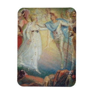 Oberon and Titania from 'A Midsummer Night's Dream Magnet