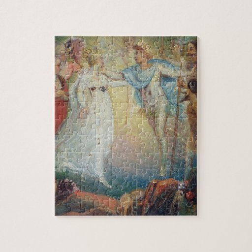 Oberon and Titania from 'A Midsummer Night's Dream Puzzles