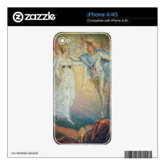 Oberon and Titania from 'A Midsummer Night's Dream Skins For The iPhone 4