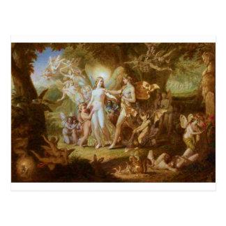 Oberon and Titania Postcard