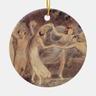 Oberon Titania Puck with Fairies Dancing Ornaments