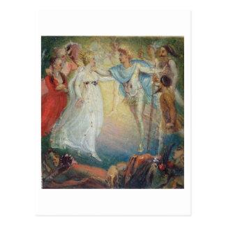 Oberon y Titania del 'El sueño de una noche de ver Postales