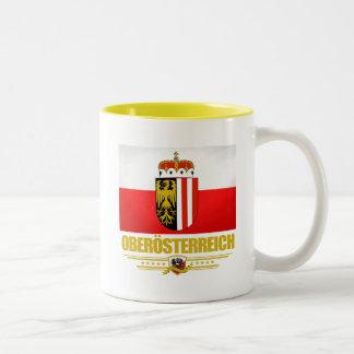 Oberosterreich (Upper Austria) Two-Tone Coffee Mug