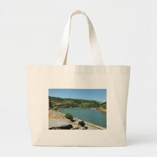 Oberwesel on the Rhine Large Tote Bag