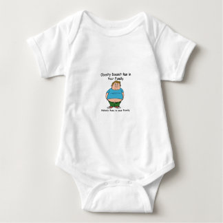 Obesity Doesn't run in your family T-shirt