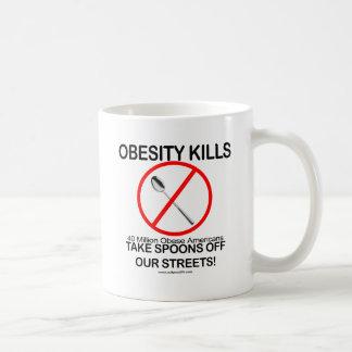 Obesity Kills Coffee Mug