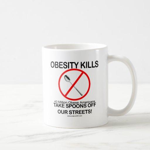 Obesity Kills Mugs
