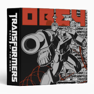 Obey 3 Ring Binder