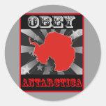 Obey Antarctica Sticker
