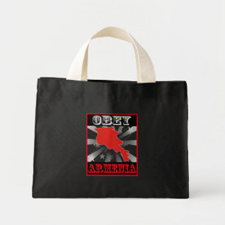Obey Armenia Tote Bags