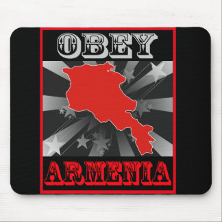 Obey Armenia Mouse Pads