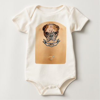 OBEY BABY TATTOO & PIERCING BABY CREEPER