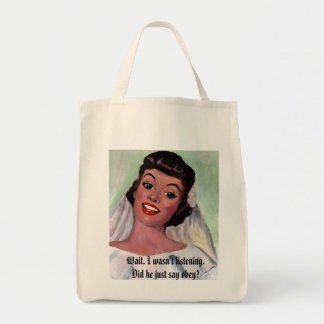 Obey? Grocery Tote Bag