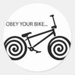 Obey BMX Stickers