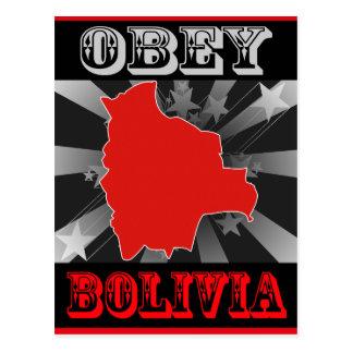 Obey Bolivia Postcard