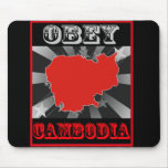 Obey Cambodia Mouse Pad