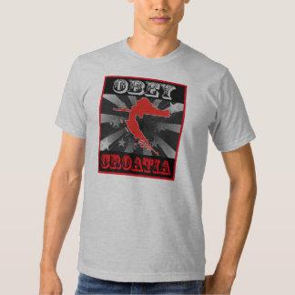 Obey Croatia Tee Shirt