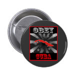 Obey Cuba Buttons