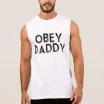 OBEY DADDY SLEEVELESS SHIRT