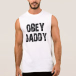 OBEY DADDY SLEEVELESS TEE