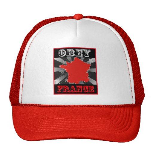Obey France Trucker Hat