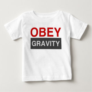 Obey Gravity Baby T-Shirt