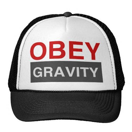 Obey Gravity Mesh Hats