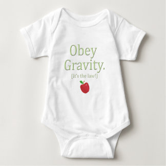 obey gravity it's the law! t shirt