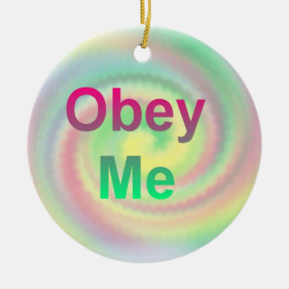Obey Me Ornament