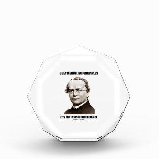 Obey Mendelian Laws Of Inheritance (Gregor Mendel) Award