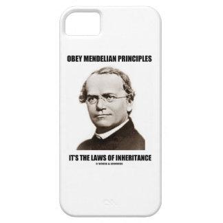 Obey Mendelian Laws Of Inheritance (Gregor Mendel) iPhone 5 Cases