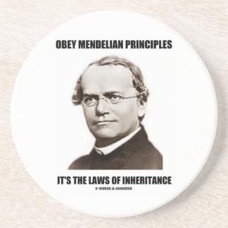 Obey Mendelian Laws Of Inheritance (Gregor Mendel) Coaster