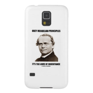Obey Mendelian Laws Of Inheritance (Gregor Mendel) Galaxy S5 Cover