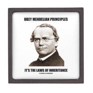 Obey Mendelian Laws Of Inheritance (Gregor Mendel) Gift Box