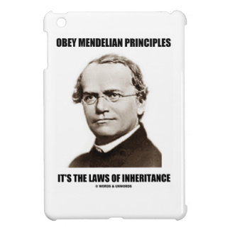 Obey Mendelian Laws Of Inheritance (Gregor Mendel) Case For The iPad Mini