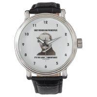 Obey Mendelian Laws Of Inheritance (Gregor Mendel) Wristwatch