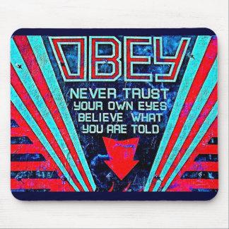 Obey! Mousepad