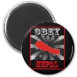Obey Nepal Magnets