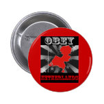 Obey Netherlands Pinback Button
