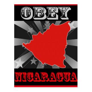 Obey Nicaragua Post Card