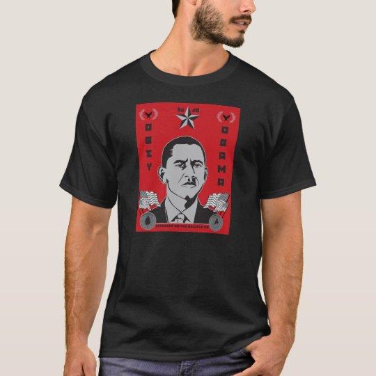 Obey Obama Propaganda T-Shirt